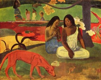 Paul Gauguin, Arearea, 1892