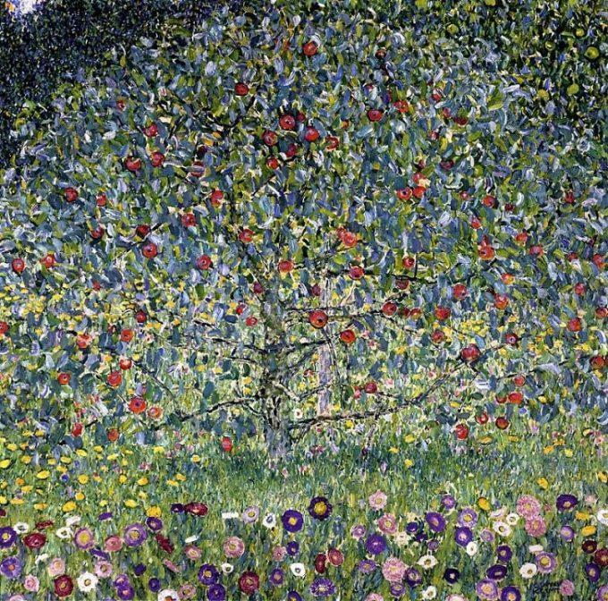 Gustav Klimt, Appelboom