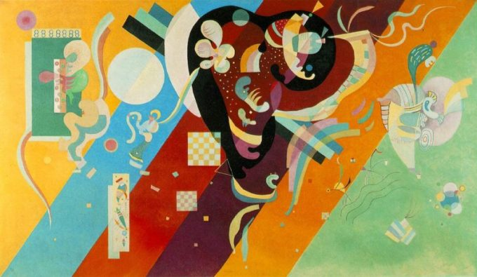 Wassily Kandinsky, Compositie IX, 1936