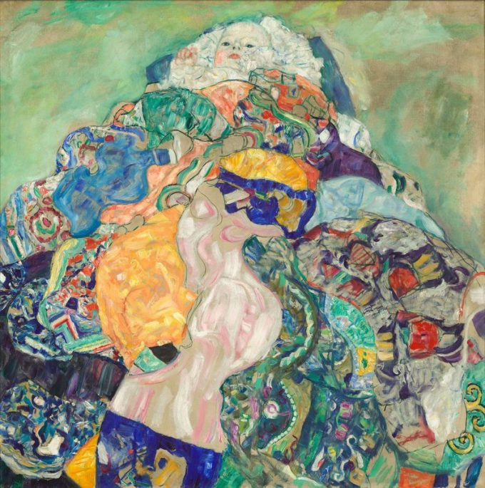 Gustav Klimt, Baby (wieg)