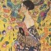Gustav Klimt, Dame met een waaier