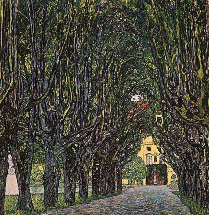 Gustav Klimt, Weg van Slot Kammer