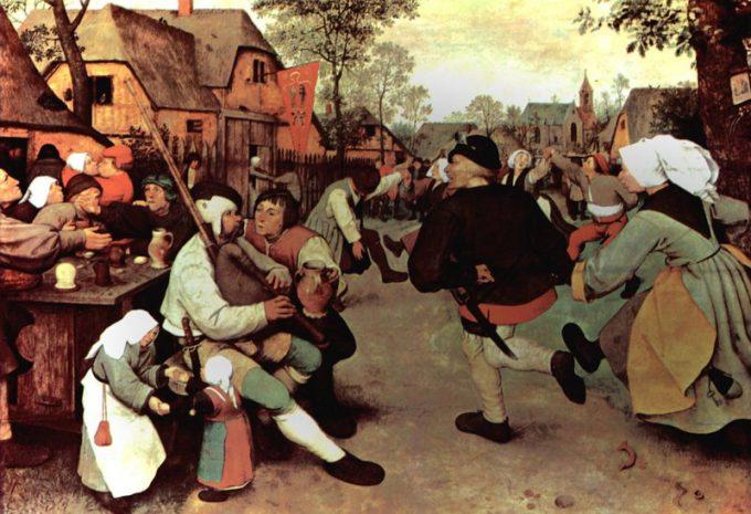 Pieter Bruegel de Oude, Boerendans, ca 1569