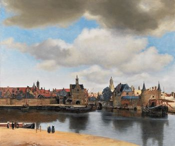 Johannes Vermeer, Zicht op Delft