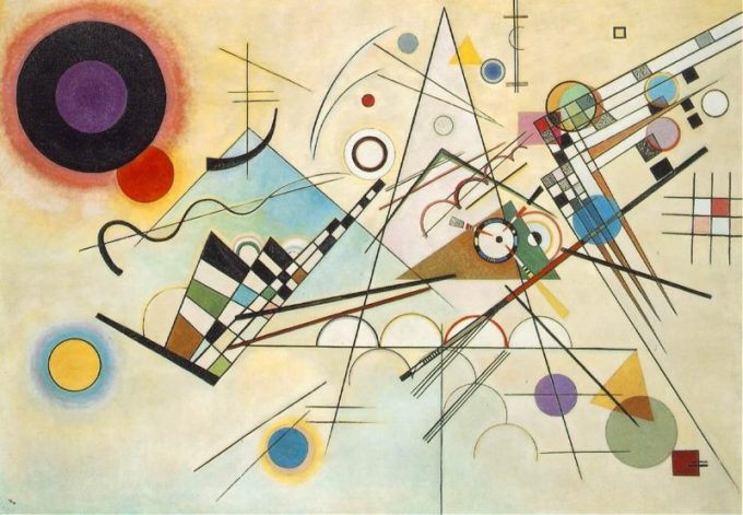 Wassily Kandinsky, Compositie VIII, 1923