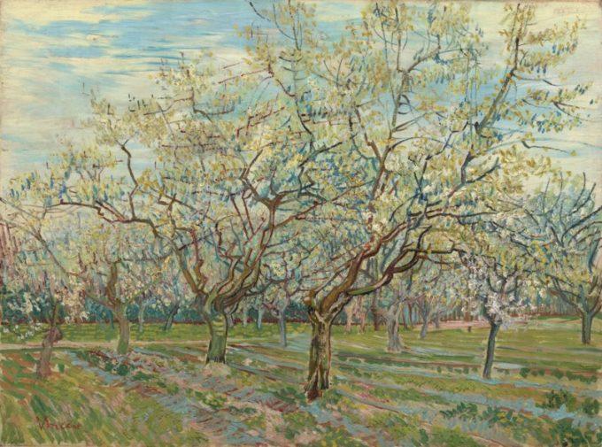 Vincent van Gogh, De witte boomgaard, 1888