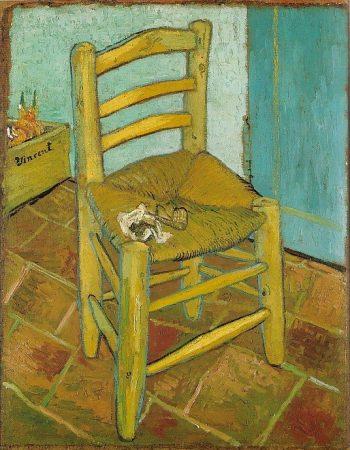 Vincent van Gogh, Van Gogh's stoel, 1888