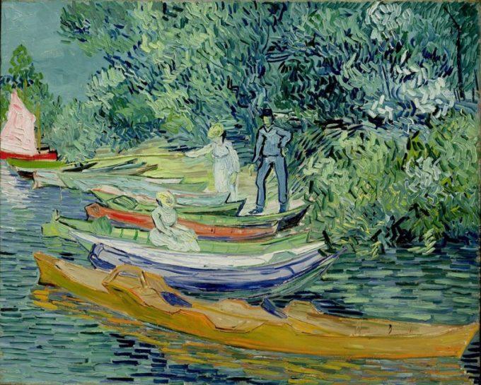 Vincent van Gogh, Oevers van de Oise bij Auvers, 1888