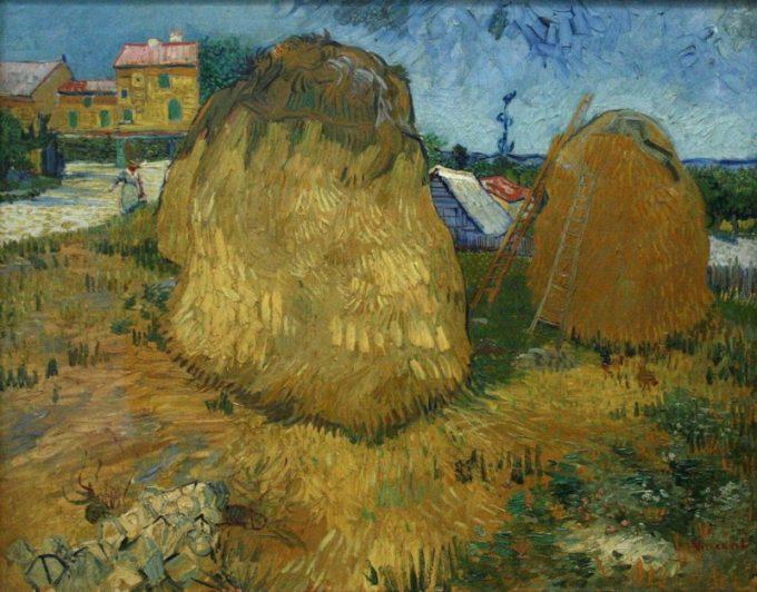 Vincent van Gogh, Korenschelven in de Provence, 1888