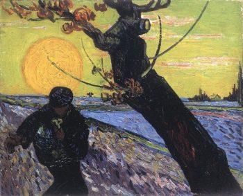 Vincent van Gogh, De zaaier 2, 1888