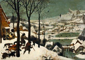 Pieter Bruegel de Oude, Jagers in de sneeuw, 1565