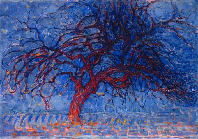 Piet Mondriaan, De Rode Boom, 1908-1910