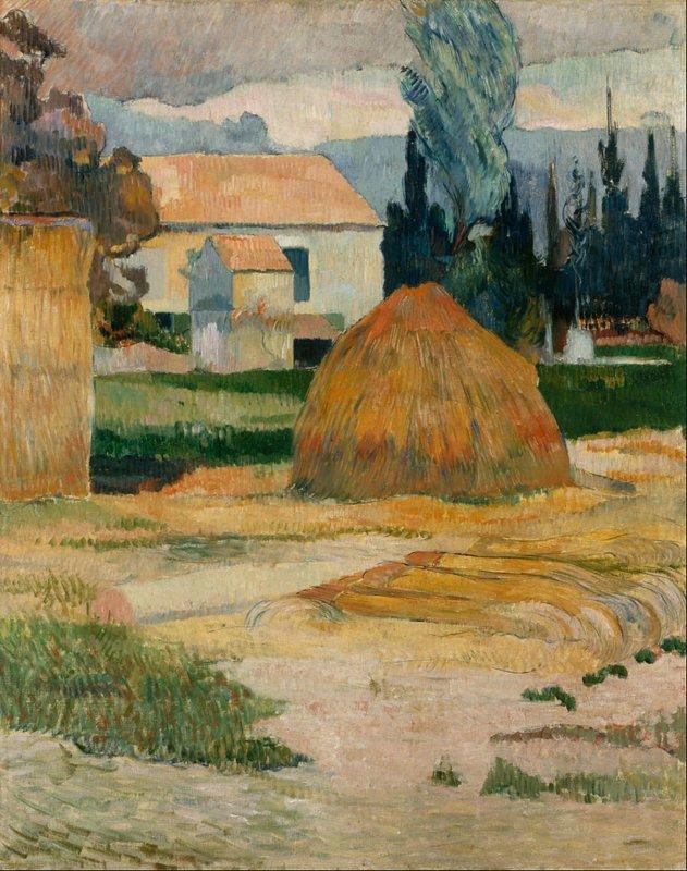 Paul Gauguin, Boerderij in Arles, 1888