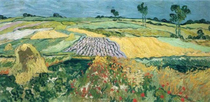 Vincent van Gogh, Korenvelden, 1888