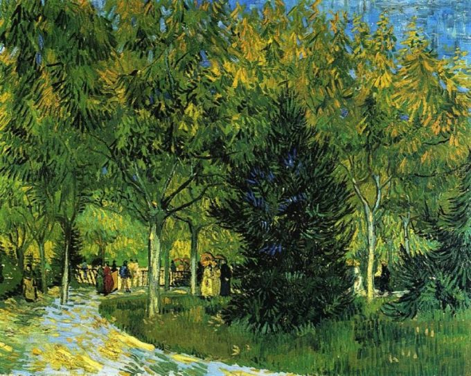 Vincent van Gogh, Laan in het park, 1888