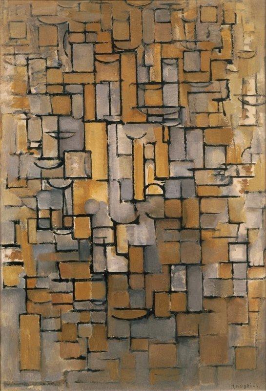 Piet Mondriaan, Compositie XIV, 1913
