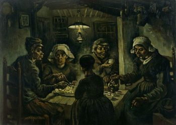 Vincent van Gogh, De aardappeleters, 1885