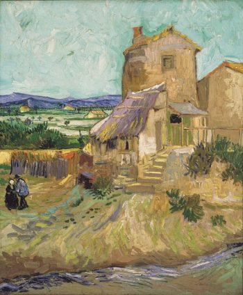 Vincent van Gogh, De oude molen, 1887