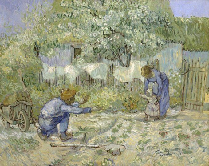 Vincent van Gogh, Eerste stapjes, 1890