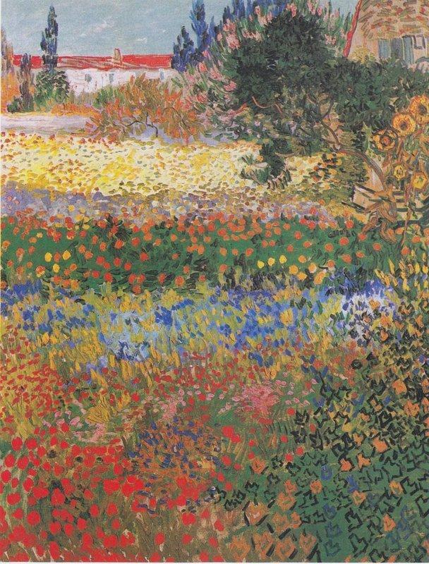 Vincent van Gogh, Tuin in bloei, 1888