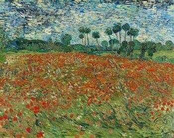 Vincent van Gogh, Papaverveld, 1890