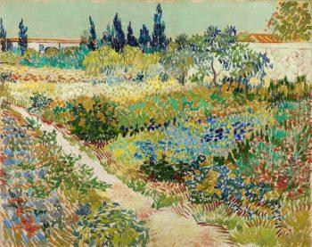 Vincent van Gogh, Tuin te Arles, 1888