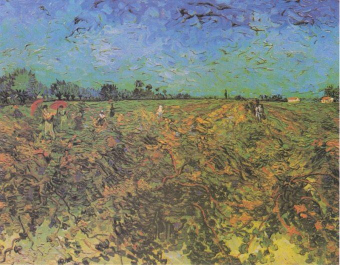 Vincent van Gogh, De groene wijngaard, 1888