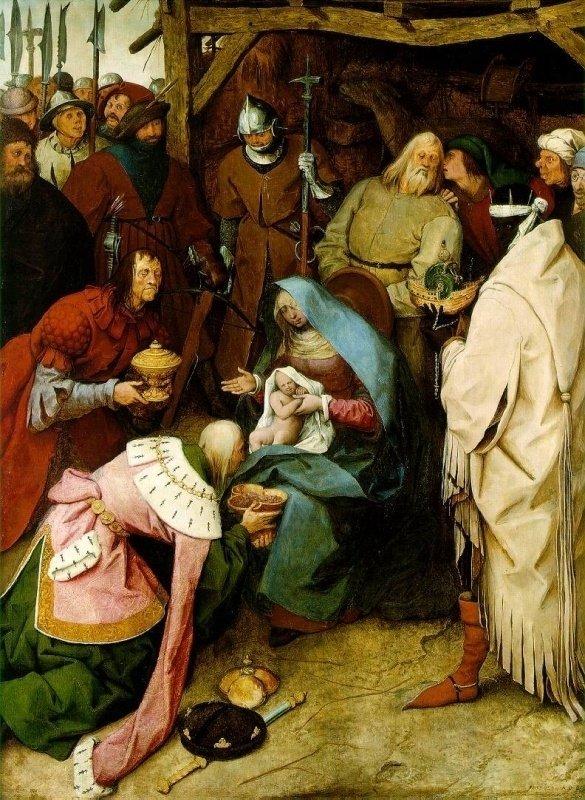 Pieter Bruegel de Oude, De aanbidding der koningen, 1564