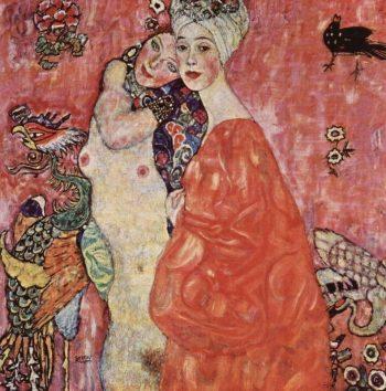 Gustav Klimt, De 2 vriendinnen