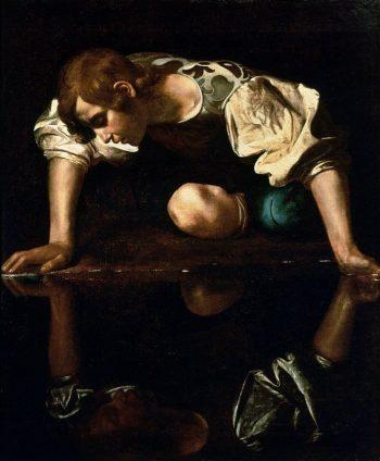 Michelangelo Merisi da Caravaggio, Narcissus, 1597-1599