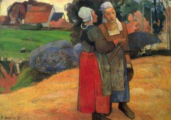 Paul Gauguin, Bretonse boerinnen, 1894
