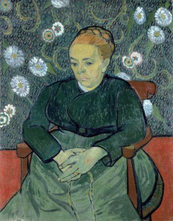 Vincent van Gogh, La berceuse (portret van Augustine Roulin), 1889