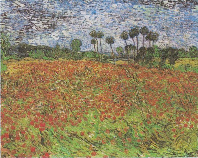 Vincent van Gogh, Veld met klaprozen, 1888