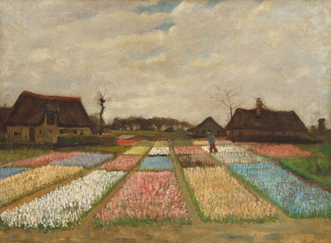 Vincent van Gogh, Bollenvelden, 1883