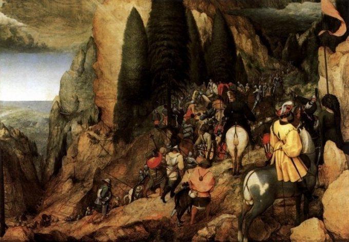 Pieter Bruegel de Oude, De bekering van Saul, 1567