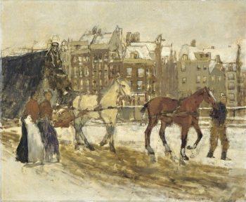 George Hendrik Breitner, Het Rokin in Amsterdam, 1897