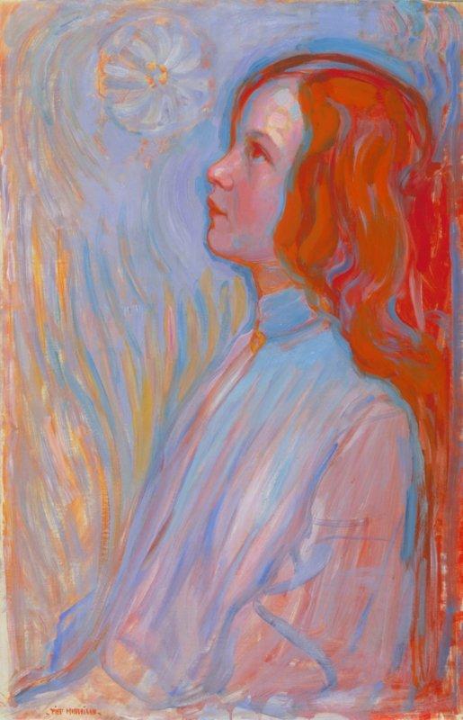 Piet Mondriaan, Devotie, 1908