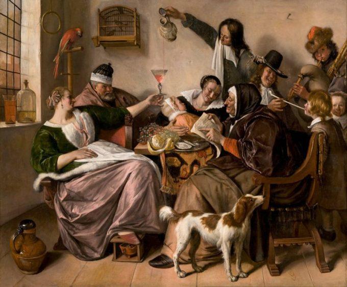 Jan Havickszoon Steen, Soo voer gesongen, soo na gepepen, ca 1668-1670