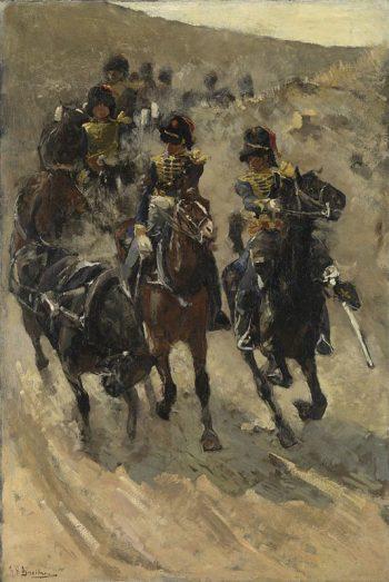 George Hendrik Breitner, De gele rijders, 1885 – 1886