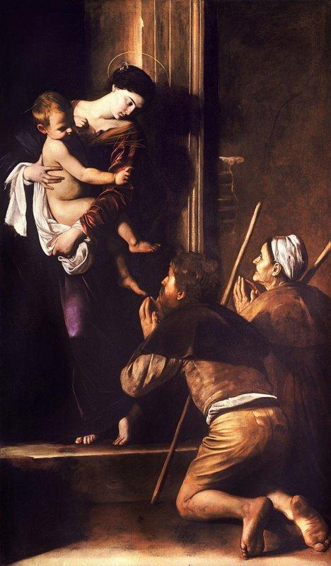 Michelangelo Merisi da Caravaggio, Madonna di Loreto, ca. 1604-1606