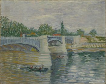 Vincent van Gogh, De brug bij Courbevoie, 1887