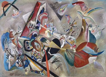 Wassily Kandinsky, In grey, 1919