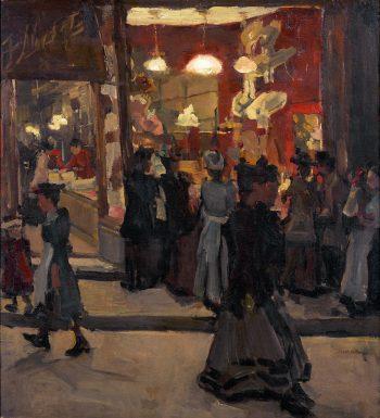 Isaac Lazarus Israëls, Hoedenwinkel van Mars, 1893