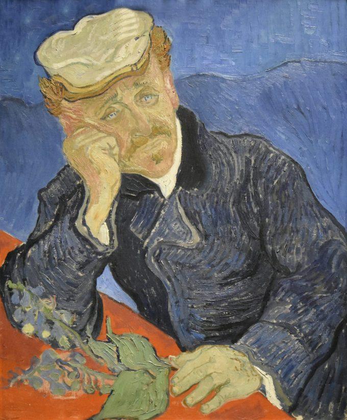 Vincent van Gogh, Portret van Dr. Gachet (tweede versie), 1890