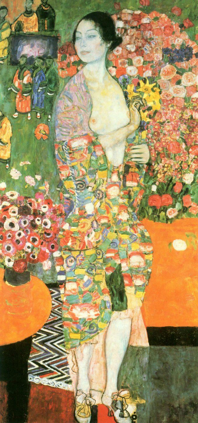 De danseres, Gustav Klimt, 1918