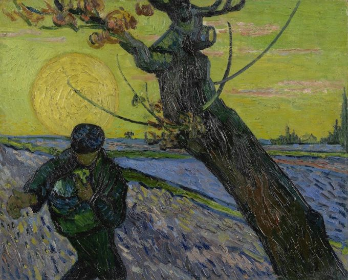 Vincent van Gogh, De zaaier, 1888