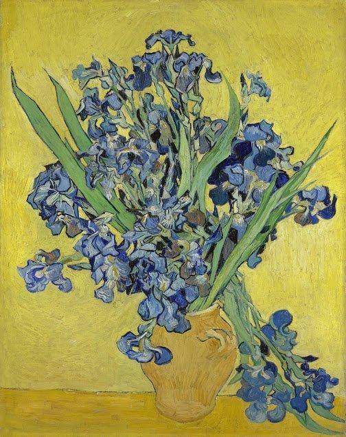 Vincent van Gogh, Irissen, 1890