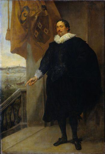 Nicolaes van der Borght, koopman te Antwerpen, Anthony van Dyck, 1625 – 1635