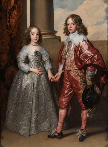 Willem II en zijn bruid Maria Stuart, Anthony van Dyck, 1641