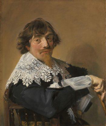 Portret van een man, Frans Hals, ca. 1635